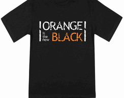 Camiseta Masculina Orange is the new black 100% Algodão