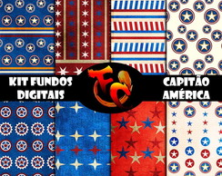 Kit Digital - Capitão América