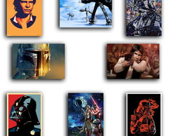 Placas Decorativas Star Wars 30X20 - Varios modelos