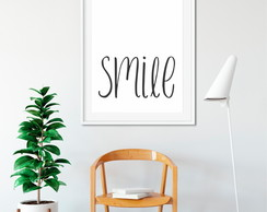 SMILE | Pôster Digital A3 + A4