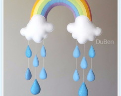 Móbile Love Rainbow Gotas