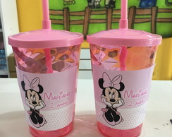 Copo Personalizado Minnie Rosa 500ml