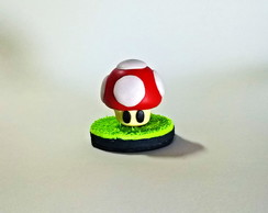 Personagem Cogumelo do Super Mario