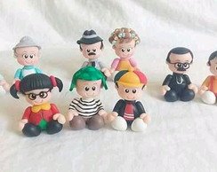 Personagens do Chaves em biscuit