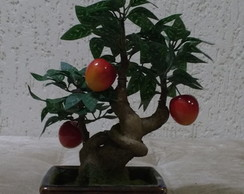 Bonsai Tronco fruta artificial