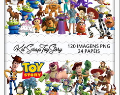 Kit Scrapbook Digital toy story