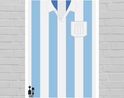 Quadro Camisa do Racing 1967