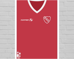 Quadro Camisa do Independiente 1984