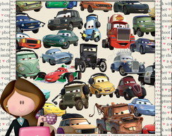 Kit Scrapbook Digital Carros