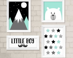 Kit Infantil- Little Boy Urso