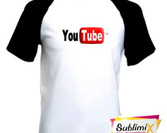 Camiseta Raglan Canal YouTube