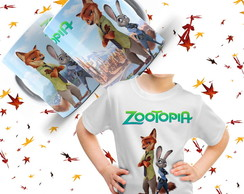 KIT Zootopia Chinelo + Camiseta