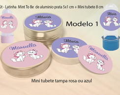 Kit Latinhas e Mini Tubetes-Marie