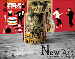 Caneca Filme Pulp Fiction