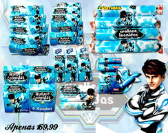 Kit Max Steel 210 Guloseimas