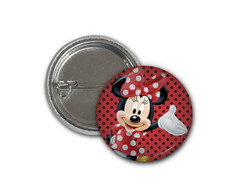 Botton Minnie 2,5cm