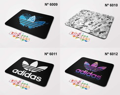 Mouse Pad Adidas Marca Grife Logo Personalize Mousepad