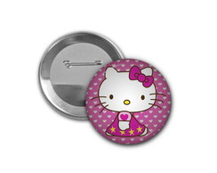 Botton Hello Kitty - 4,5cm