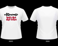 Camiseta Ramones - Rock´n Roll High Scholl