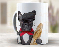 Caneca Bulldog Frances Cute - 177s