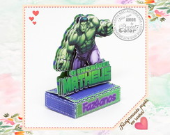 PORTA CHOCOLATE DUPLO Incrivel Hulk