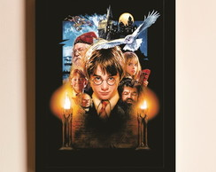 Poster com Moldura Harry Potter 4