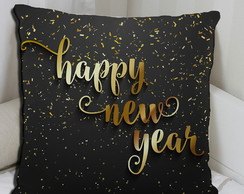 Almofadas de Ano novo Happy New Year Personalizada