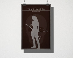 Poster A3 Tomb Raider