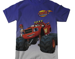 Camiseta Blaze and The Monster Machines - Infantil