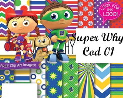 PAPEL DIGITAL SUPER WHY