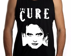 Camiseta Regata The Cure Robert Smith gothic rock