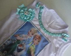 kit camisa frozen