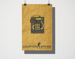 Poster A3 Counter Strike