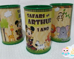 Cofrinhos Personalizados - Mickey Mouse Safari