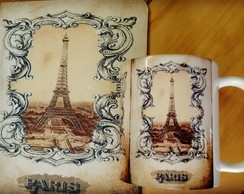 Kit Caneca+Mouse Pad Paris 2