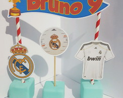 Cake topper real madrid