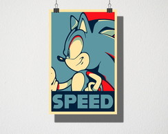 Poster A3 Sonic