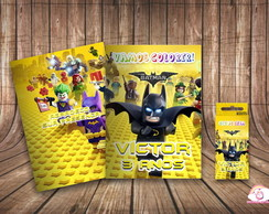 Kit Colorir Personalizado Lego Batman