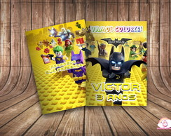 Revista Colorir Personalizado Lego Batman