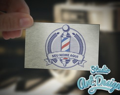Logotipo Barbearia Pronta entrega 01