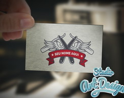 Logotipo Barbearia Pronta entrega 02