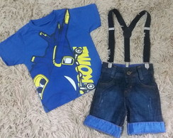 Conjunto Fantasia Super Wings Jerome