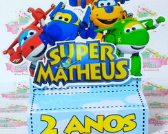 Chocolate duplo Super Wings