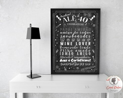 Chalkboard Decorativo | ARTE DIGITAL