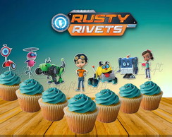 Topper Rusty Rivets