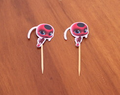 Topper para doces - Lady bug