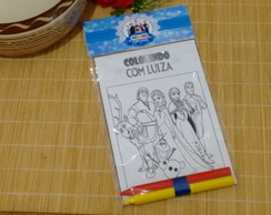 Mini Kit de colorir Frozen