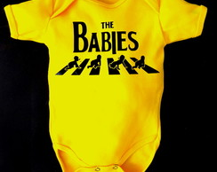 Body DIvertido Amarelo The Babies