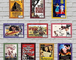 Cinema - Placas Decorativas