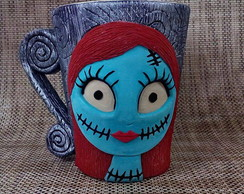 Caneca 3D Sally - Nightmare Before Christmas